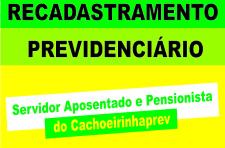 Recadastramento Previdenciário 2021